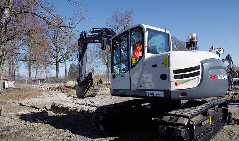 SCHAEFF TC125 – Pásové rypadlo full