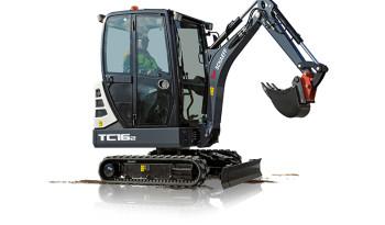 SCHAEFF TC16-2 – Pásové minirypadlo full