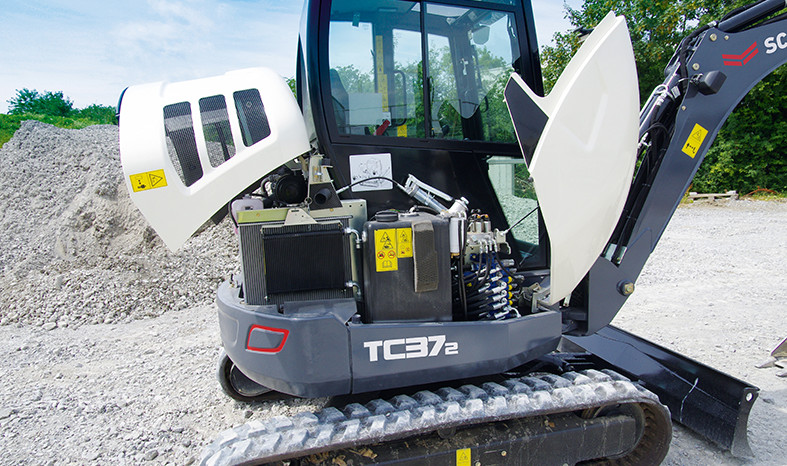 SCHAEFF TC37-2 – Pásové minirypadlo full