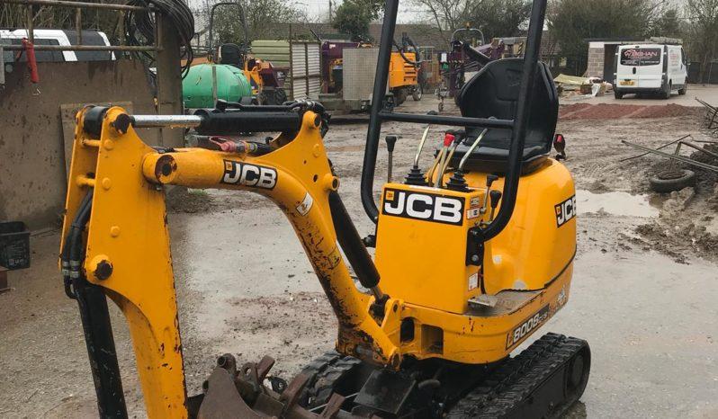 JCB 8008 – Pásové mikrorypadlo full