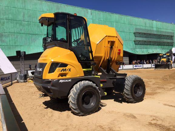 MECALAC 9MDX – Kabinový staveništní dumper full