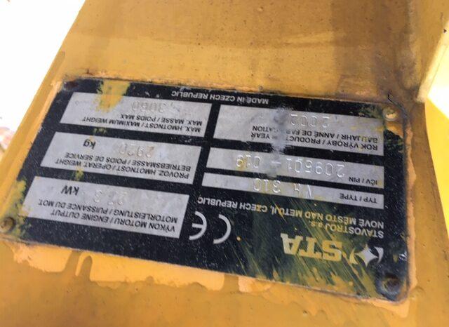 STAVOSTROJ VH310 – Tandemový válec full