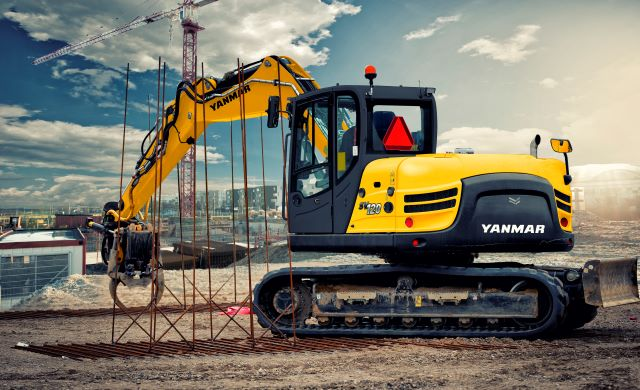 YANMAR SV120 – Pásové midirypadlo full