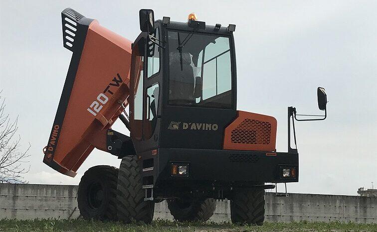 D´AVINO 120TW – Staveništní dumper full