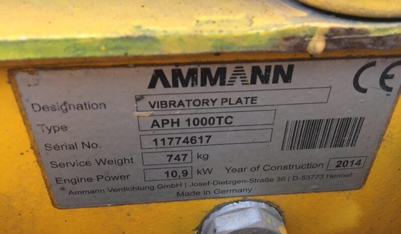 AMMANN APH 1000TC full