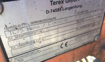 TEREX/SCHAEFF TC75 – Pásové minirypadlo full